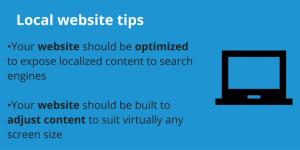local website tips